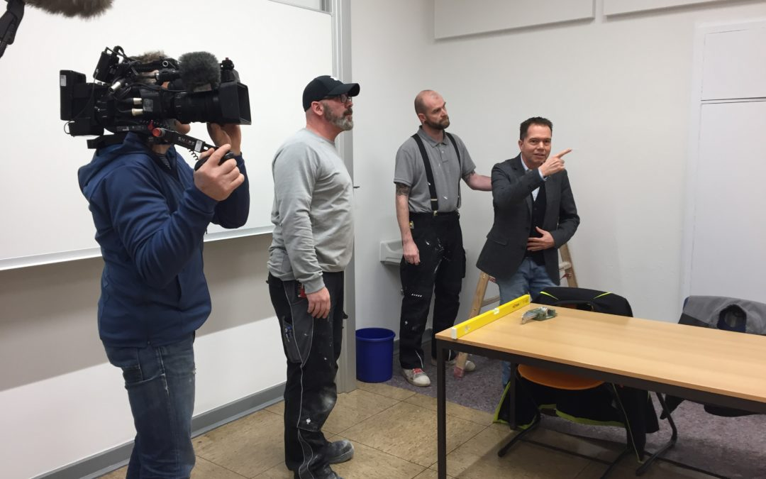 """WDR-Filmaufnahmen zu """"Die Story"""""""