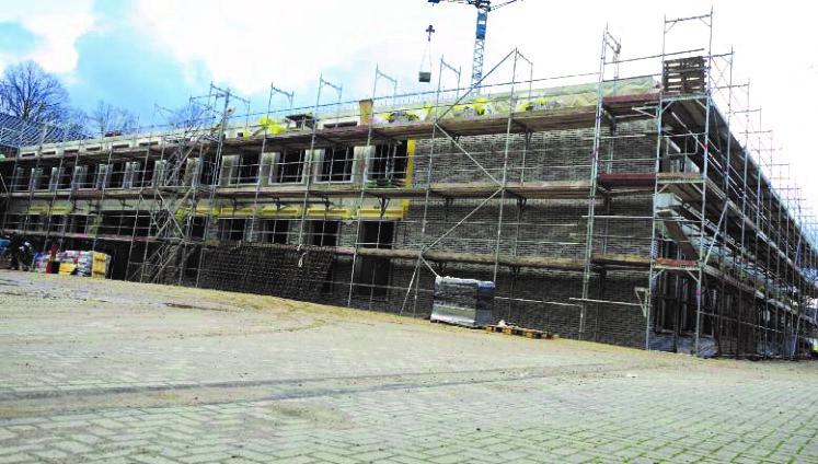 Rohbauarbeiten abgeschlossen – Innenausbau beginnt bald Neubau an der Albert-Schweitzer Schule (WiG)