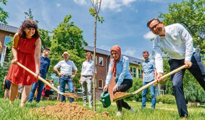 Es geht vorwärts an der Marienschule (Niederrhein Nachrichten vom 16. Juni 2021)